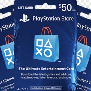 PlayStation Store Gift Card (Email Delivery)